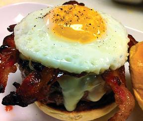 yagas breakfast burger