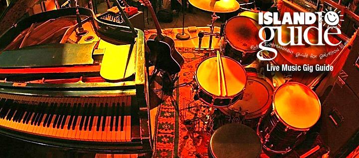 Live Music Gig Guide for Galveston, Texas | Island Guide ...
