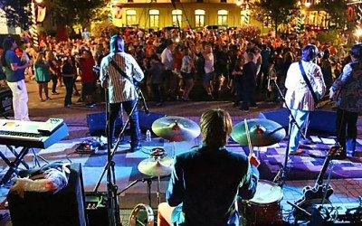 free muisic Saengerfest Park downtown galveston tx