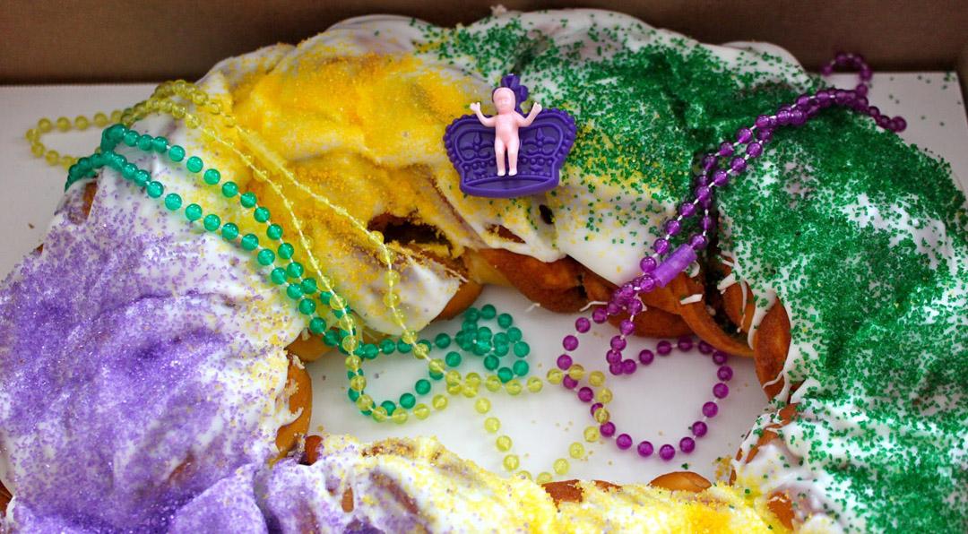 mardi gras king cake galveston tx