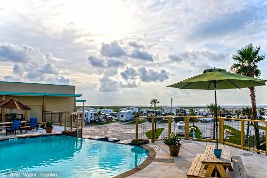 Sandpiper RV Resort camping galveston tx