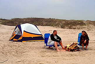 camping galveston island tx beach