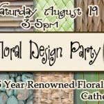 Silk Floral Design Party