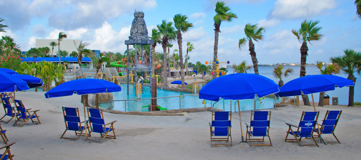 The New Palm Beach At Moody Gardens In Galveston Texas 08 11