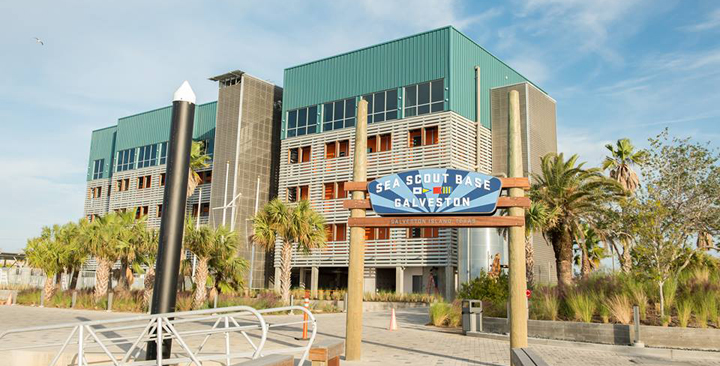 Island Boating Boasts New Centerpiece: Sea Scout Base Galveston