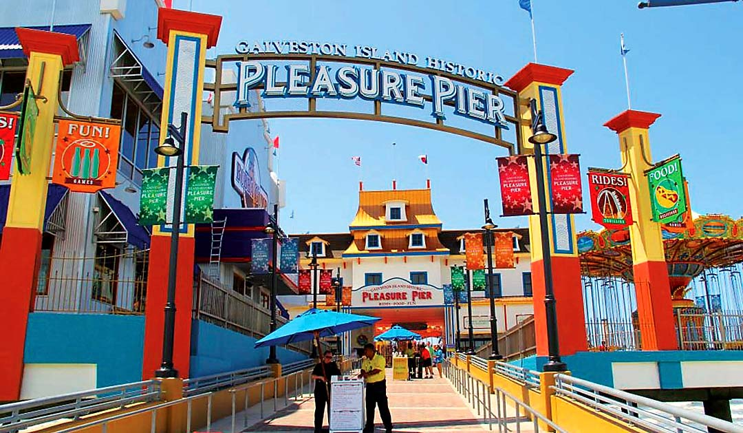 Pleasure Pier is Open for Summer
